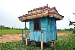 Blue hut Stock Images