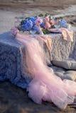 Blue hydrangea Royalty Free Stock Photo