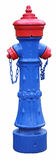 Blue hydrant Stock Photography