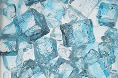 Blue ice. Abstract with blue ice. Creative coold Background Stock Images