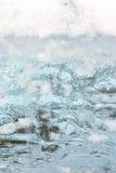 Blue ice Royalty Free Stock Image