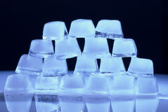 Blue ice Stock Photos