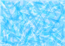 Blue ice abstract background. Illustration stock illustration