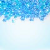 Blue ice background. Light blue ice shining background Stock Images