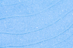 Blue ice background texture Stock Photography