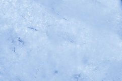Blue ice background texture Stock Images