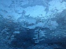 Blue ice background Stock Photography