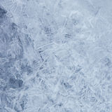Blue ice background Royalty Free Stock Photos