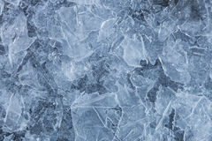 Blue ice background Stock Images