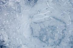 Blue ice background Stock Image