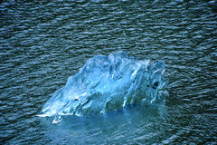 Blue Ice Berg Stock Photography