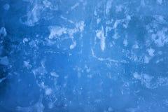 Blue ice closeup background Royalty Free Stock Image