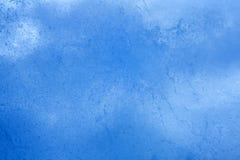 Blue ice closeup background Stock Photo