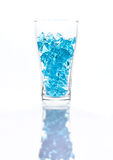 Blue ice royalty free stock images