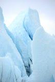 Blue ice glacier Royalty Free Stock Photo