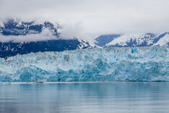 Blue Ice of Hubbad Glacier Stock Photography