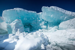 Blue Ice Stock Photo