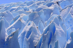 Blue Ice Maze Stock Photography