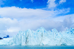 Blue ice mountain of Perito Moreno glacier Royalty Free Stock Images