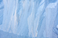Blue ice natural background Royalty Free Stock Images
