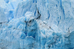 Blue ice Patagonia glacier stock images