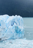 Blue ice patagonian glacier Stock Image