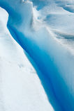 Blue ice of Perito Moreno Glacier, Argentina Royalty Free Stock Photography