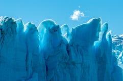 Blue ice of Perito Moreno Glacier, Argentina Stock Image