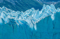 Blue ice of Perito Moreno Glacier, Argentina Royalty Free Stock Image
