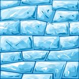Blue ice seamless pattern Royalty Free Stock Photography