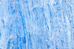 Blue ice texture royalty free stock photography