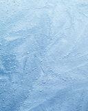 Blue Ice Texture. Detailed closeup of blue icy texture royalty free stock image