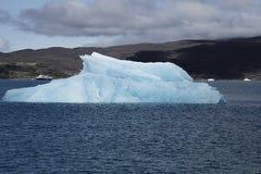 Blue iceberg Royalty Free Stock Photos