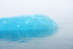 Blue iceberg Royalty Free Stock Photos