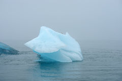 Blue iceberg Stock Photography
