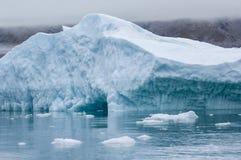 Blue Icebergs in Greenland Stock Photos