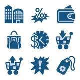 Blue icon set 26 Stock Photo