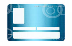 Blue identification. Blue modern identification with space to paste photo and text Stock Photos