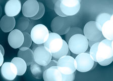 Blue illumination circles. Blue unfocused circles. Abstract blurs stock photography