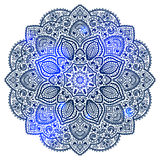 Blue Indian ornament Royalty Free Stock Photo