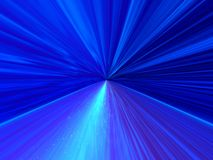 Blue infinity. Abstraction background Stock Photography