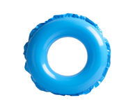 Blue inflatable circle Stock Photography