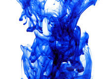 Blue Ink Royalty Free Stock Image