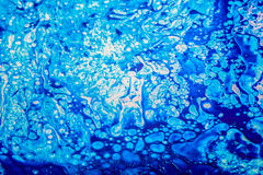 Blue  ink  background Royalty Free Stock Photos