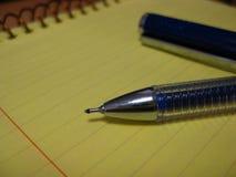 blue-ink-ballpoint-pen Royalty Free Stock Photos