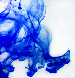Blue ink Stock Photos