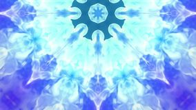 Blue ink kaleidoscope is for ink effects or for background. Use luma matte as alpha channel. Ink spread in slow motion. Ink kaleidoscope is for ink effects or stock footage