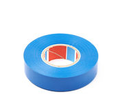 Blue insulating tape isolated Stock Photography