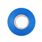 Blue insulating tape isolated Stock Image