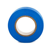 Blue insulating tape Royalty Free Stock Photos